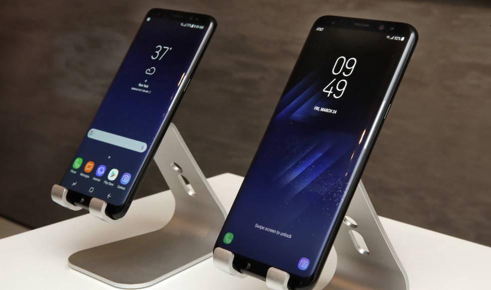 O novo Samsung Galaxy S8.
