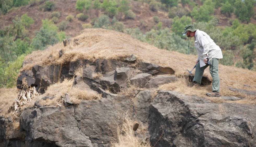 Esta é a aparência, milhões de anos depois, dos restos das erupções vulcânicas que acabaram com os dinossauros.