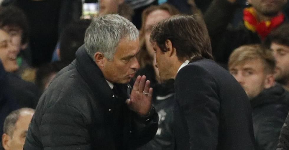 José Mourinho recrimina Antonio Conte.