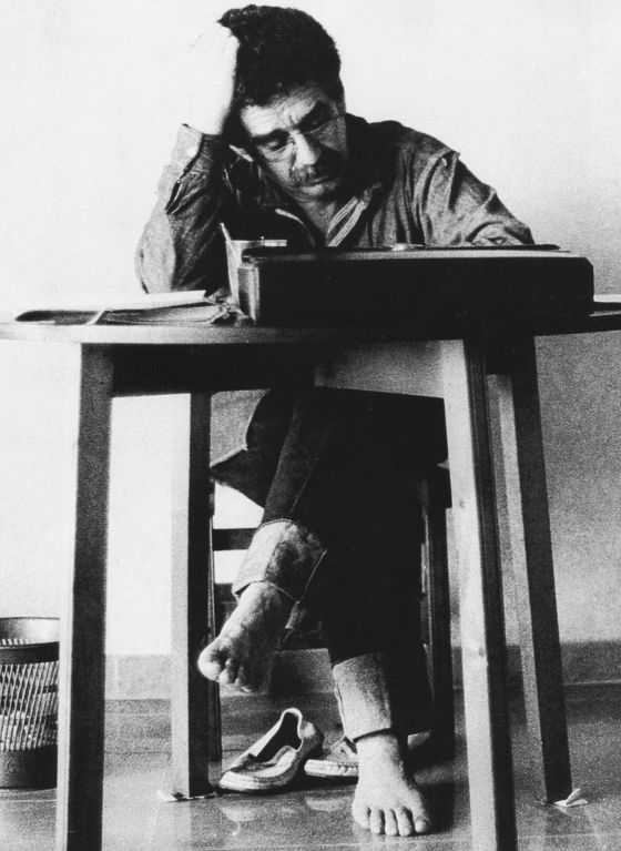 Gabriel García Márquez em Barcelona para 1972