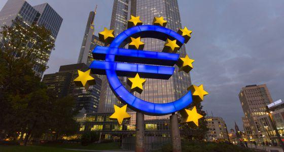 A sede do Banco Central Europeu (BCE) em Frankfurt.