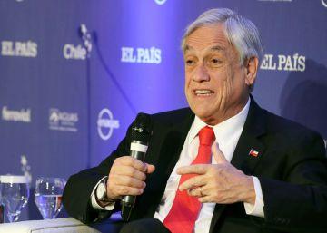 O presidente do Chile analisa os desafios da América Latina em um fórum de investimentos organizado pelo EL PAÍS, em Madri
