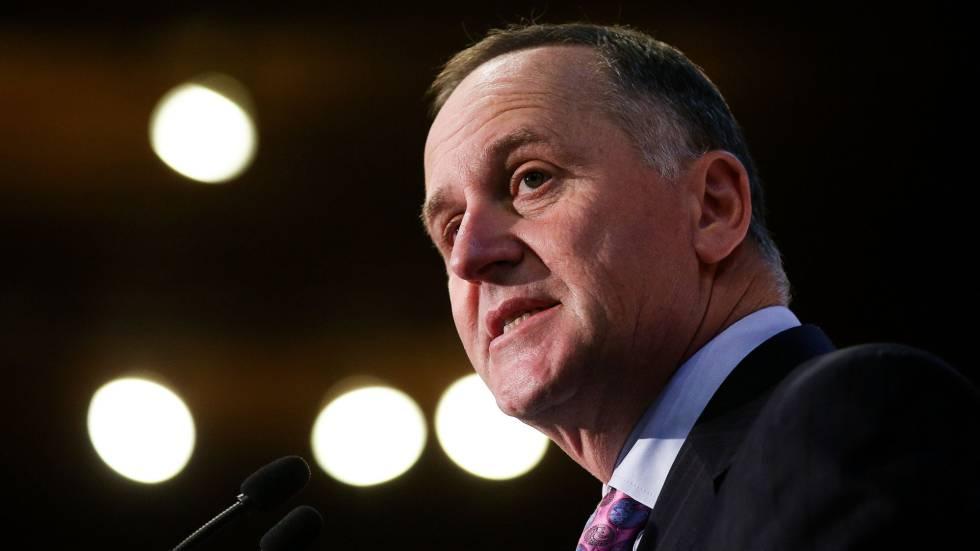 O ex-primeiro-ministro da Nova Zelândia, John Key.