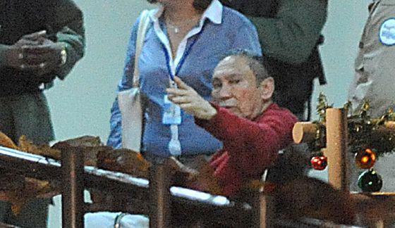 Noriega, durante seu rendimento a prisão em dezembro de 2011