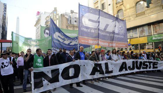 Sindicatos argentinos preparam-se para sua segunda greve.