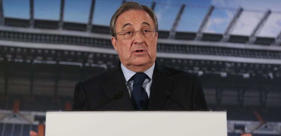 Florentino Pérez, presidente do Real Madrid.