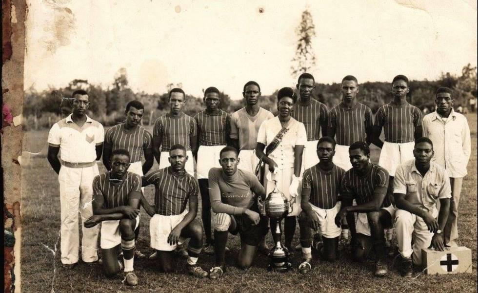 Cruzeirinho de Novo Hamburgo, um dos times que participou da Liga Nacional de Futebol Porto-Alegrense.