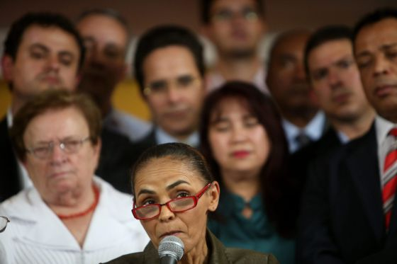A ambientalista Marina Silva.