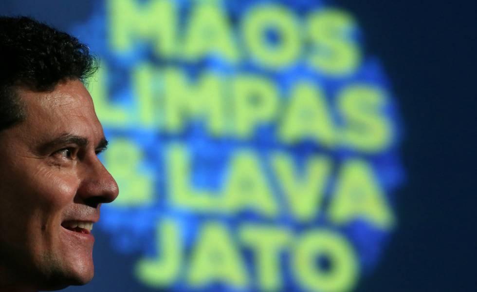 O juiz Sérgio Moro no Fórum