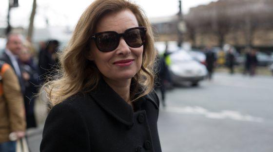 A jornalista Valérie Trierweiler.