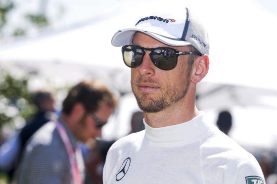 Jenson Button em Melbourne.
