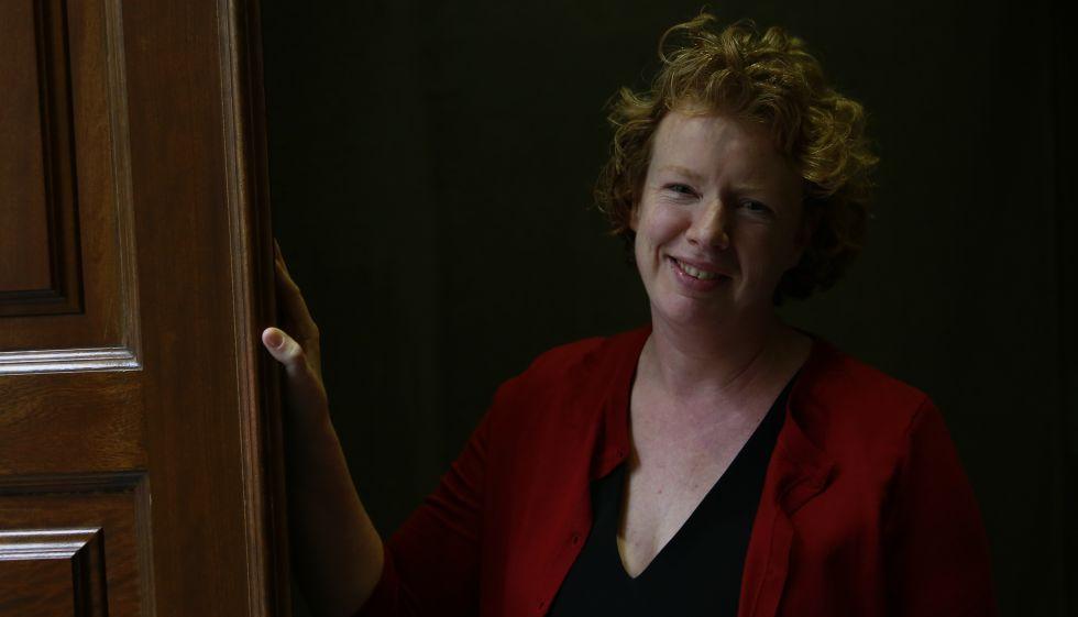 A neurologista Suzanne O'Sullivan, há algumas semanas, em Madri.