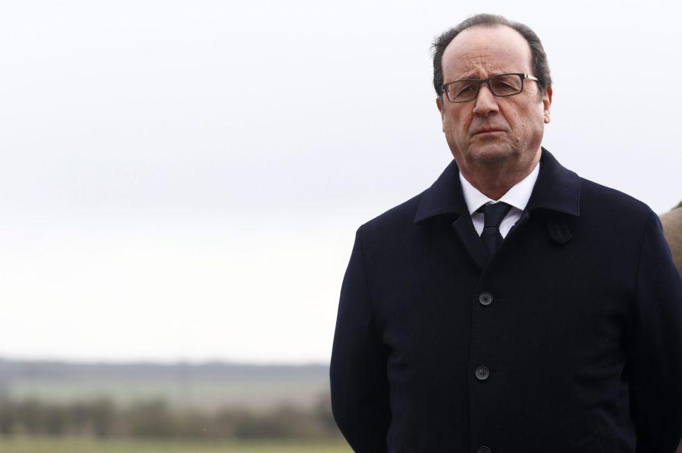 O presidente francês François Hollande, no último dia 3.