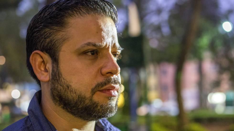 Jesús Romero na segunda-feira, na Cidade do México