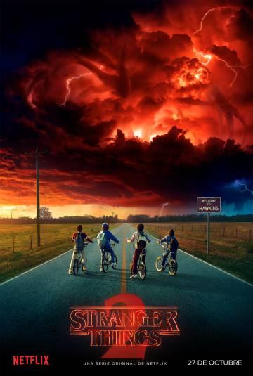 Cartaz da segunda temporada da série da Netflix.