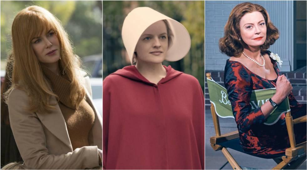 Atrizes de 'Big Little Lies', 'The Handmaid's Tale' e 'Feud'