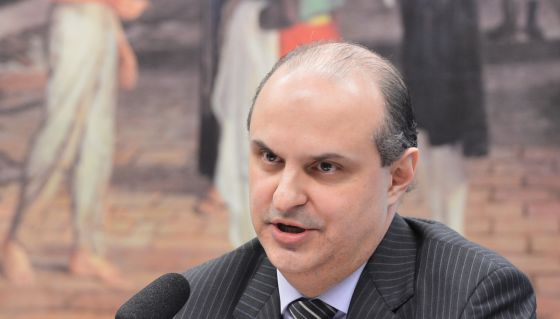 Dalton Avancini durante depoimento à CPI da Petrobras.