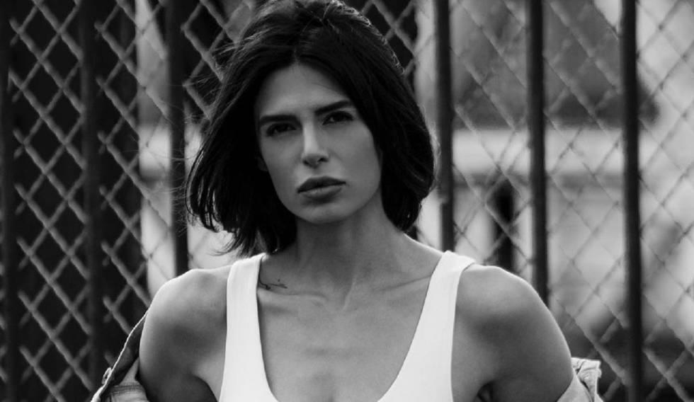 A modelo Negzzia, em uma imagem de seu Instagram. No vídeo, Negzzia conta sua história.
