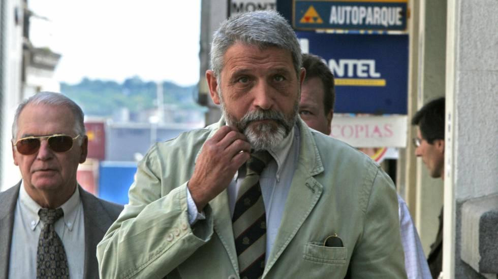 O coronel uruguaio Eduardo Augusto Ferro Bizzozer, no Tribunal de Montevidéu (Uruguai).