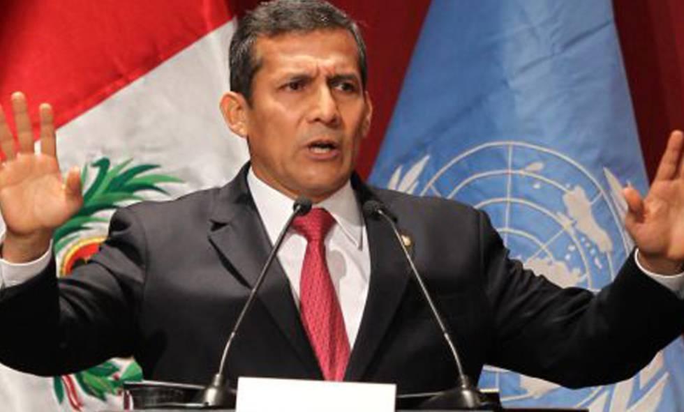 O ex-presidente do Peru Ollanta Humala.