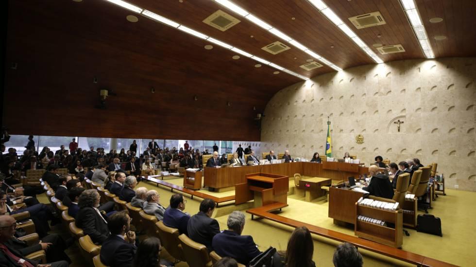 Sessão do STF que decide pedido da defesa para evitar prisão de Lula.