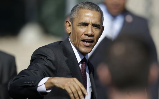 Obama, nesta sexta-feira em Utah.