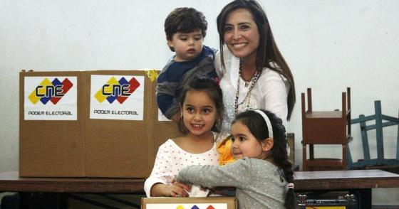 Patrícia de Ceballos, ganhadora das eleições de San Cristóbal.
