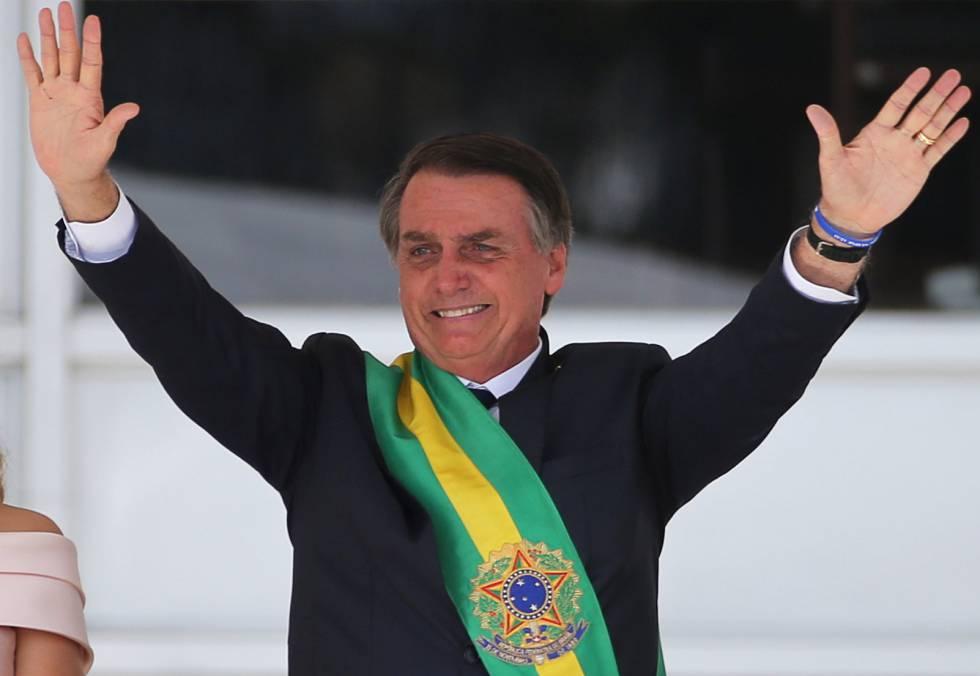 "Posse presidencial: Bolsonaro: ""O Brasil começa a se libertar do socialismo, e do politicamente correto"" | Brasil | EL PAÍS Brasil"