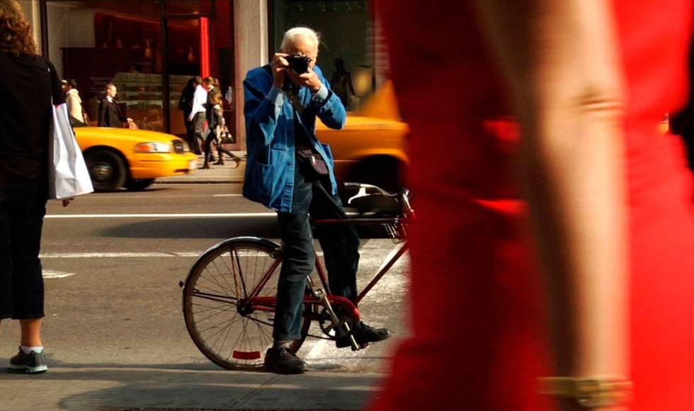 Cunningham, em uma imagem promocional de seu documentário.