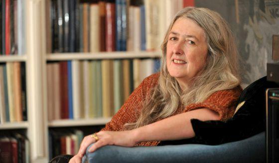 A professora e apresentadora de televisão Mary Beard.