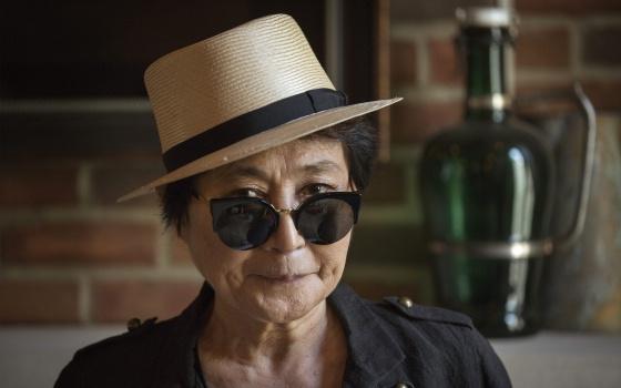 Yoko Ono, em julho do ano passado.