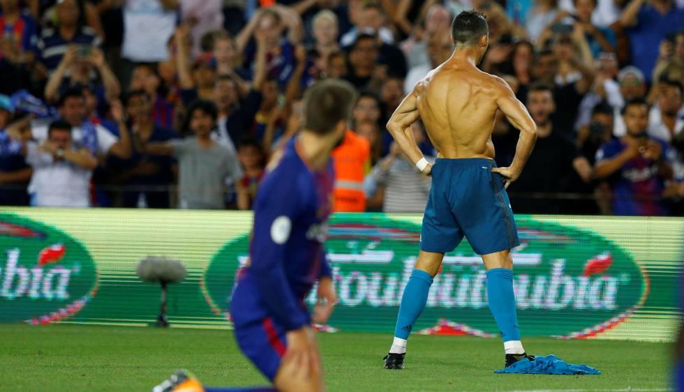Cristiano Ronaldo marcou golaço e foi expulso no clássico.
