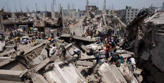 Derrumbe do edifício de Bangladesh