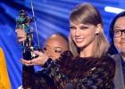 A cantora de 25 anos levou três prêmios, entre eles o de melhor vídeo do ano por  Bad Blood