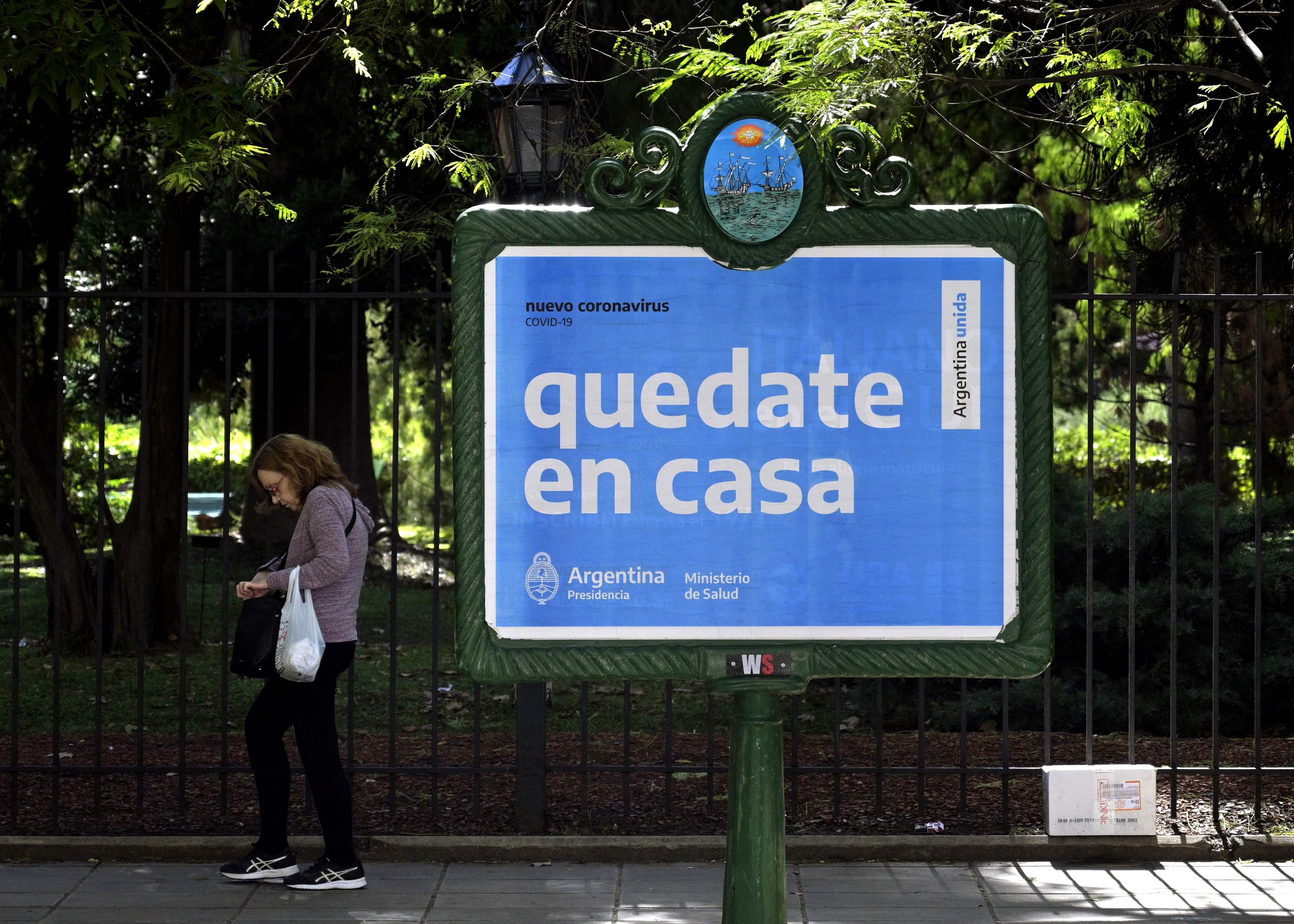 Argentina entra en cuarentena obligatoria hasta el 31 de marzo ...