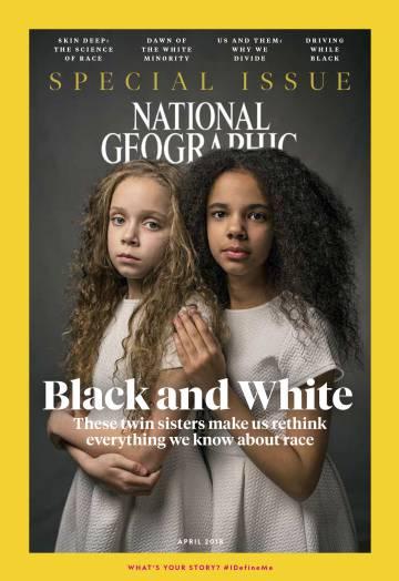 Capa da revista 'National Geographic'