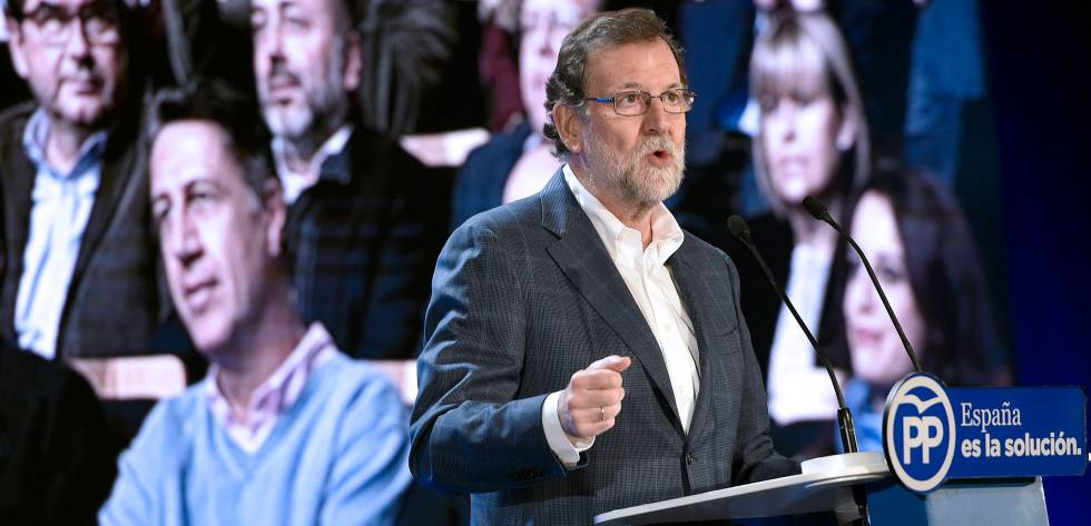 Mariano Rajoy, presidente do Governo espanhol.