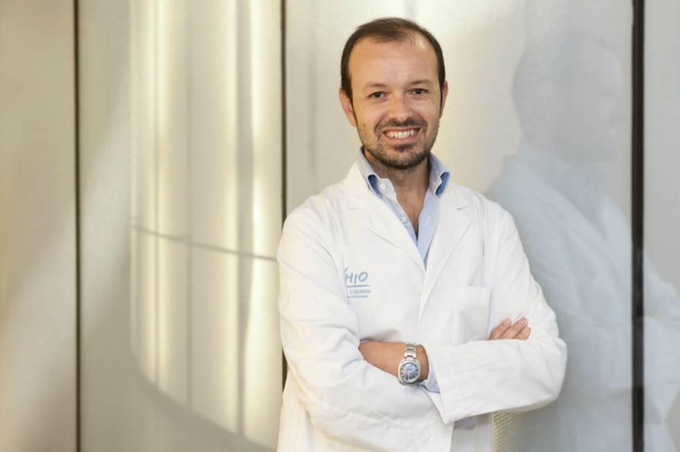 Paolo Nuciforo, pesquisador no Instituto de Oncologia Vall d'Hebron, em Barcelona.