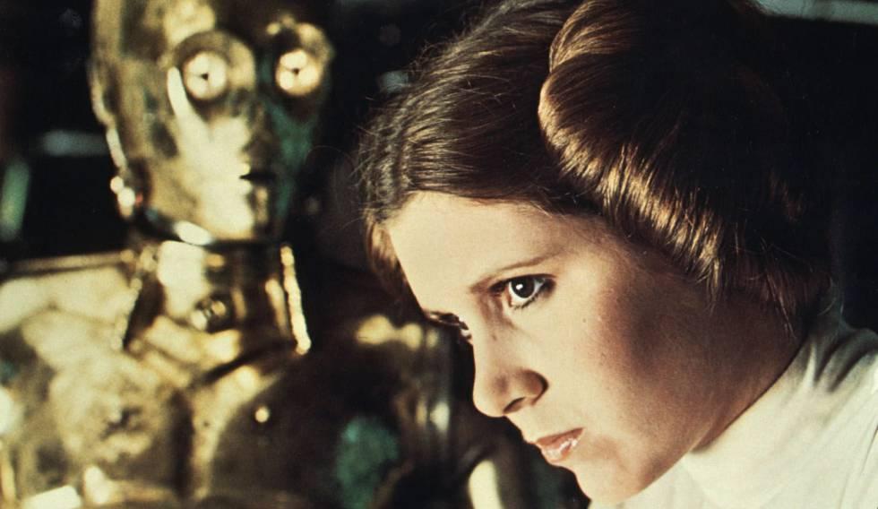 Carrie Fisher cena de 'Star Wars'