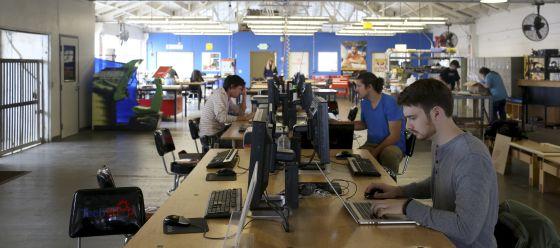 Funcionários de uma empresa de tecnologia, em San Francisco.
