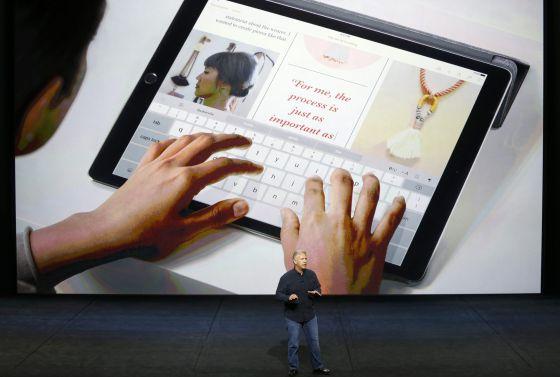 O novo iPad.