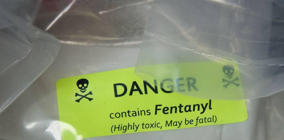 Apreensão de heroína com fentanil.