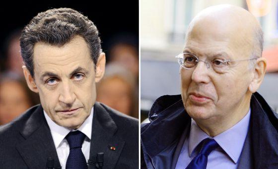 Nicolas Sarkozy e Patrick Buisson.