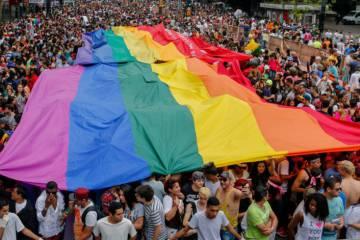 Parada LGBT, na Paulista