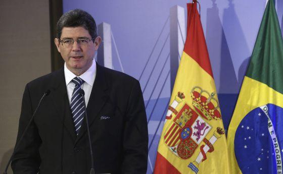 Joaquim Levy durante evento do EL PAÍS em Madri.