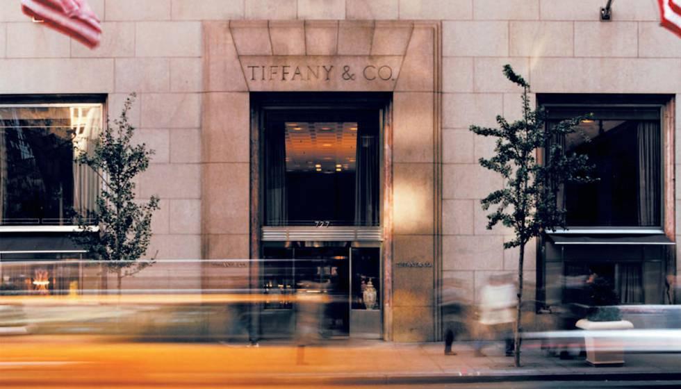 A loja da Tiffany em Nova York.