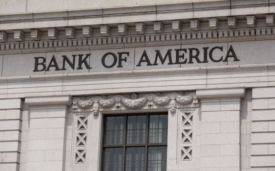 A sede do Bank of America, em Washington.