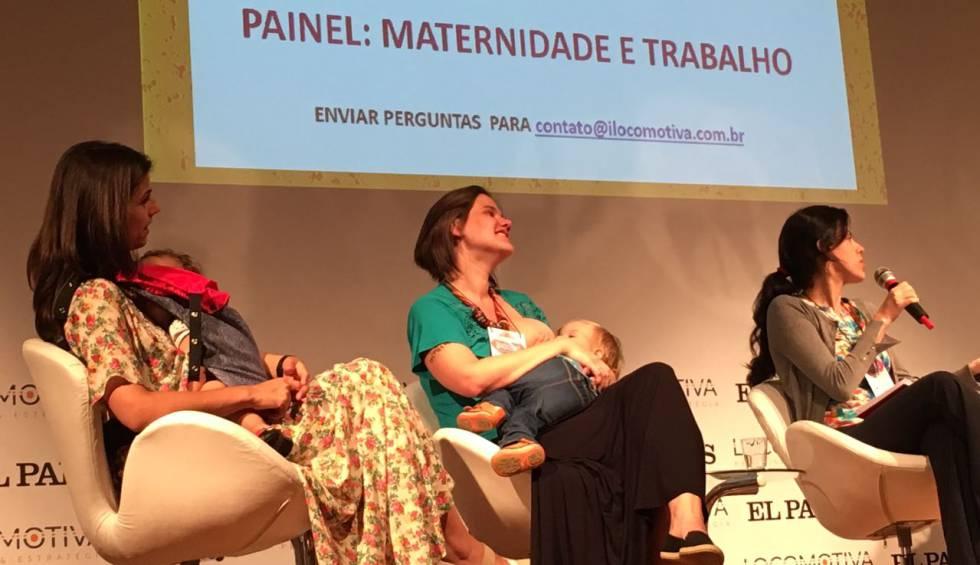 Painel do evento 'Brasileiras', nesta sexta em São Paulo.