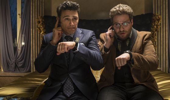 James Franco e Seth Rogen em 'The Interview', filme que teria motivado os ataques.