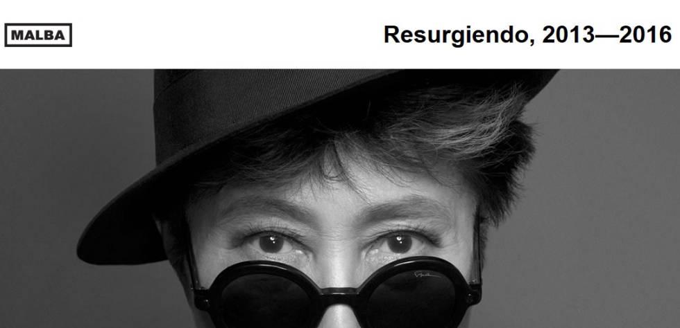 Ressurgindo: Yoko Ono apresentará em Buenos Aires uma instalação com testemunhos da violência machista.